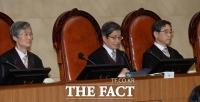 [TF포토] '국정농단' 최종심 선고 하는 김명수 대법원장