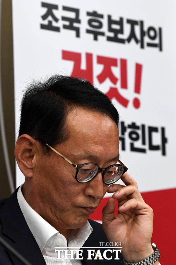 다음 발언에 고심중인 김도읍 의원