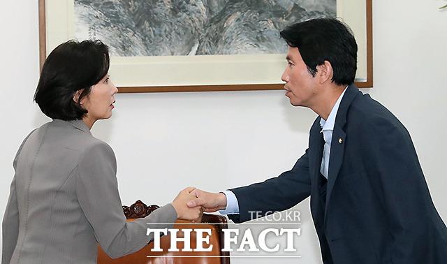 4일 더불어민주당과 자유한국당은 오는 6일 조국 법무부 장관 인사청문회 개최에 전격 합의했다. /국회=이새롬 기자