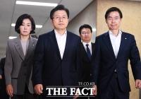 [TF포토] '조국 정국'에 웃음기 사라진 자유한국당