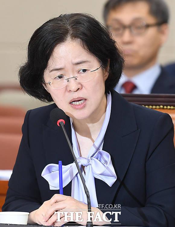 국회 정무위 인사청문회에 출석한 조성욱 공정거래위원장 후보