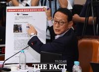 [TF포토] '조국 부인과 동양대 총장'이 주고받은 문자 공개하는 김도읍 의원