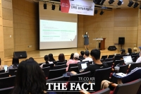 [TF포토] '취준생들의 열띤 취업 준비 현장!'…더팩트 실무능력개발센터 교육