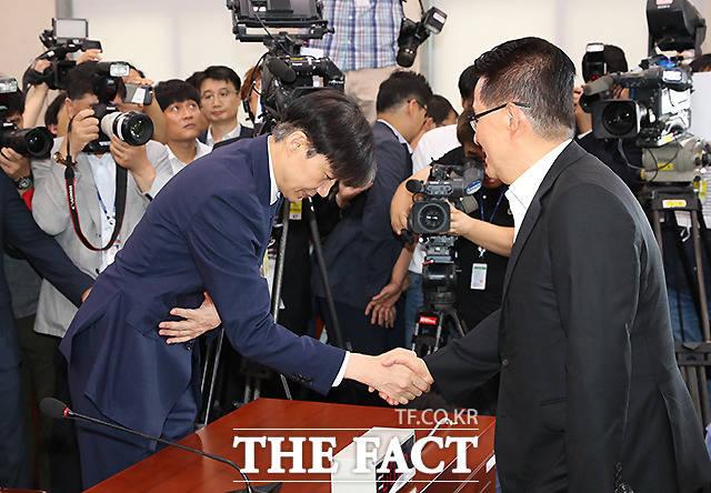 김대중 정부에 뿌리를 두고 있는 박 의원은 문 정부의 성공이 곧 진보 진영의 성공과 연관돼 있다고 본다는 게 평론가들의 설명이다. /배정한 기자