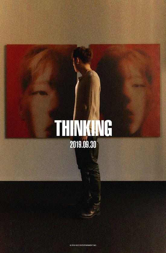 지코의 첫 정규 앨범 THINKING 콘셉트 포토가 공개됐다. /KOZ 엔터테인먼트