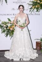 [TF포토] 박은영 아나운서, '눈부신 가을의 신부'