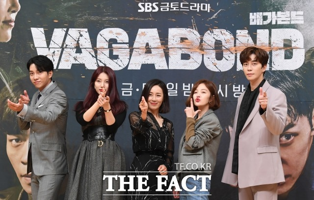 SBS 배가본드가 주중드라마 전체 시청률 1위 자리에 올랐지만 선정성, 연기력 논란에 휩싸였다. /이새롬 기자