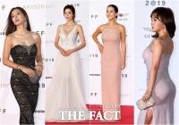 [TF포토] '청순, 우아, 섹시!' 레드카펫 위 드레스 퍼레이드
