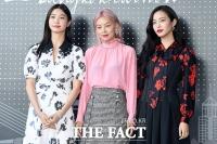 [TF포토] 서재원-송해나-황세온, '부국제의 미녀 3총사'