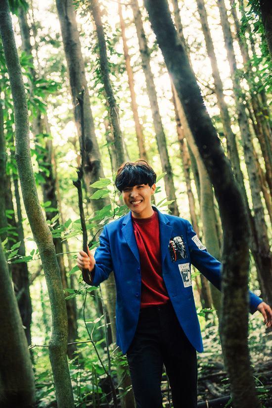 2015년 방탄소년단이 화양연화 pt.2를 발매할 당시 제이홉의 모습. /빅히트엔터테인먼트 제공