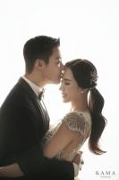 강남·이상화, 웨딩 화보 공개…
