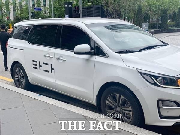 타다 운영사 브이씨앤씨가 내년까지 운행 차량을 1만 대로 늘리겠다고 발표했다. /더팩트 DB