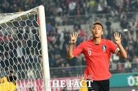 [TF포토] 김신욱, '이제 4골째... 난 멈추지 않아'