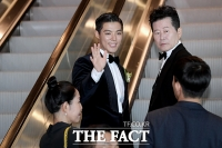 [TF포토] '새신랑' 강남, 결혼식 앞두고 '너무 행복해요~'