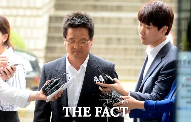 14일 고위층 성접대 의혹 윤중천 씨에게 징역 13년이 구형됐다/이새롬기자