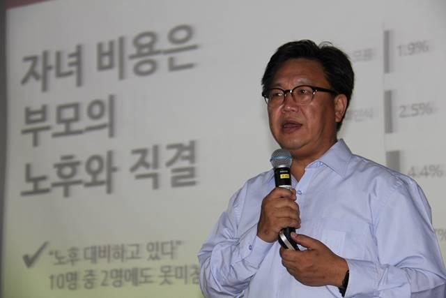 [TF현장] 존 리 메리츠운용 대표, 모교 후배 위해 금융 강사 변..
