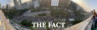 [TF포토] 국회 앞 가득 채운 검찰개혁 촛불 집회