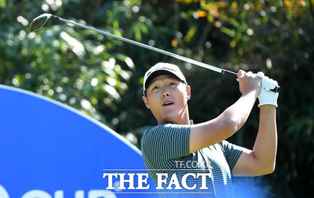 18언더파를 기록한 대니 리는 단독 2위로 경기를 마쳤다. /서귀포=임세준 기자