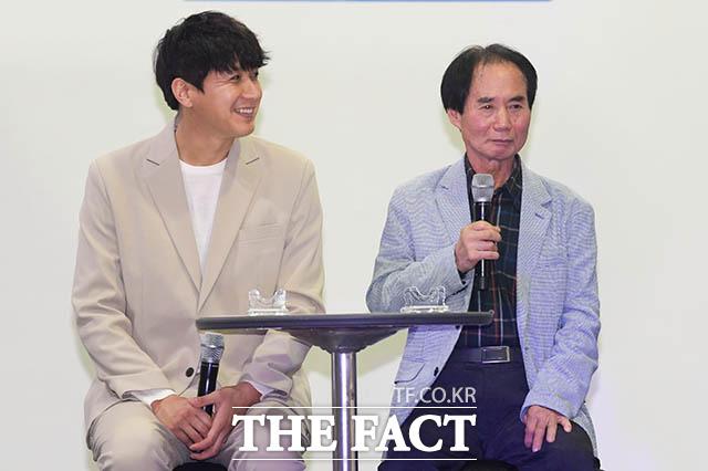 김승현과 아버지 김언중 씨