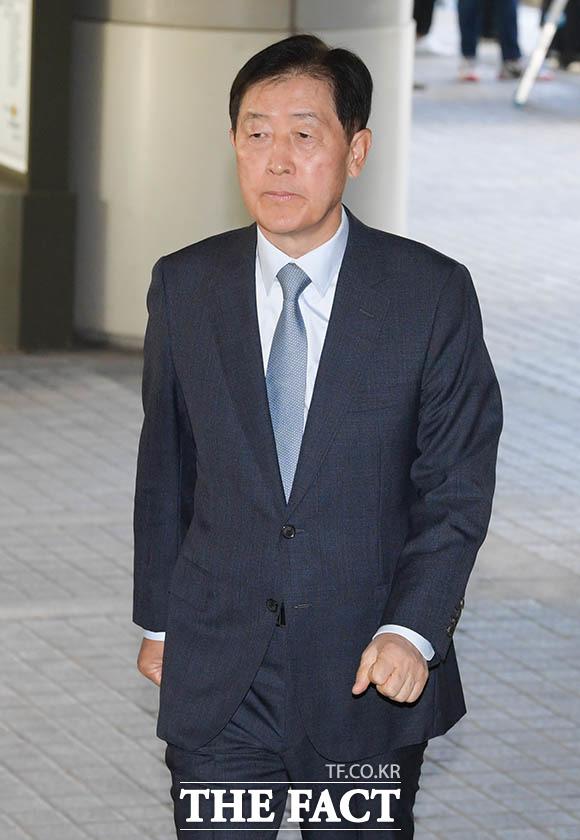 최지성 전 삼성그룹 미래전략실 실장