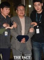 [TF포토] 영장실질심사 마친 '성폭행 혐의' 김준기 전 회장