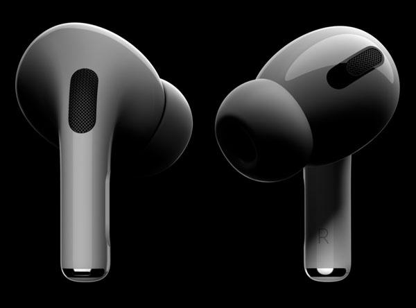 애플이 30만 원대 프리미엄 무선 이어폰 에어팟 프로를 공개했다. /애플 홈페이지 캡처