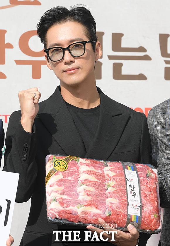 한우 홍보대사로 활동 중인 배우 남궁민