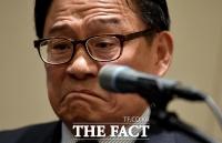 [TF포토] '공관병 갑질 논란' 굳은 표정의 박찬주 전 육군대장