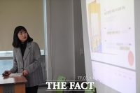 [TF포토] '발표와 질문, 피드백이 실시간으로!'…더팩트 실무능력개발센터