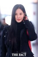 [TF포토] 서현, '김포공항 들썩이게한 여신 미소'