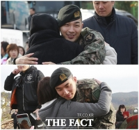 [TF포토] 태양-대성, '사랑이 넘치는 전역 기념 팬미팅'