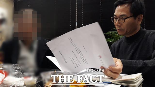 BTS 해외공연 사칭 피해자 중 한명의 L씨는 주범 격인 K 모씨는 과거 연예인 성매매 사건에 연루돼 언론에 오르내렸던 인물이며 그를 도운 여러명의 공범이 계획적으로 진행한 사기 사건이라고 말했다. /강일홍 기자