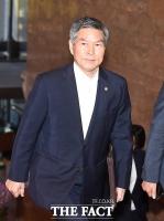 정경두, 오늘 태국행…日방위장관 만나 '지소미아' 논의할까