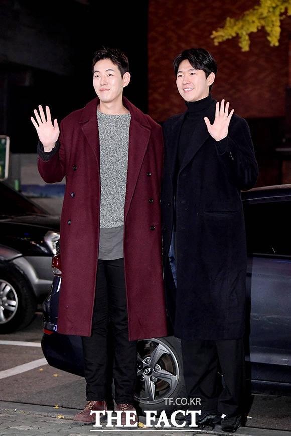 배우 이재우(왼쪽)와 박연우