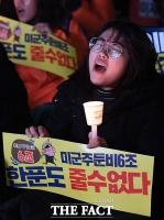 [TF포토] '굴욕협상 중단!'