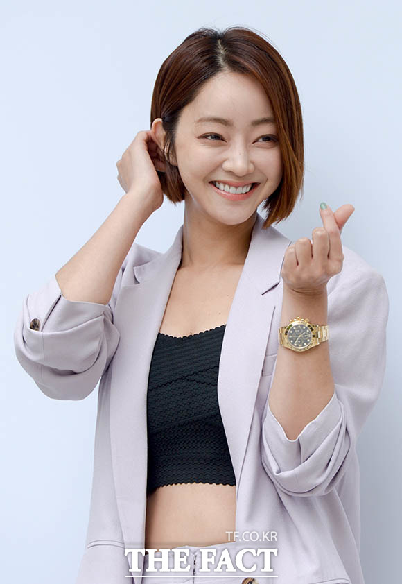 배우 서효림과 정명호 대표가 결혼과 임신 소식을 함께 전했다. /김세정 기자