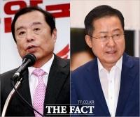 김병준-홍준표, 한국당 '원외 거물'의 엇갈린 총선 행보