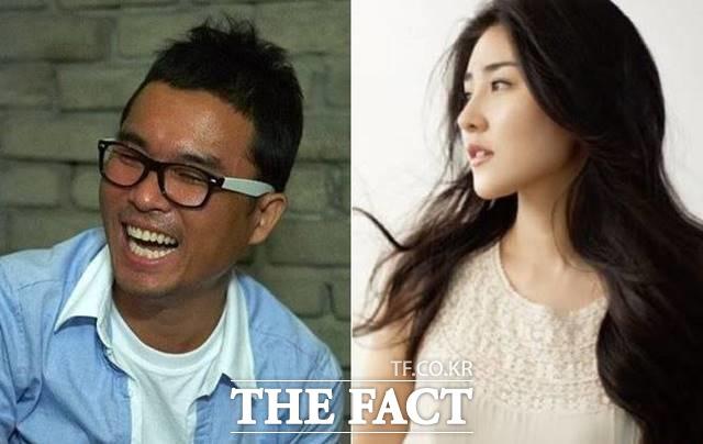 김건모(왼쪽)과 장지연은 내년 5월 결혼식을 올린다. /더팩트DB, 장지연 앨범 커버