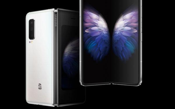 삼성전자는 초고가 갤럭시폴드 5G 모델 출시도 준비하고 있다. /삼성 중국 홈페이지 캡처