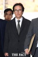 [TF포토] 법정 출석하는 조현범 한국타이어 대표