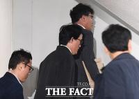 [TF포토] 구속 갈림길 조현범 대표, '무거운 발걸음'