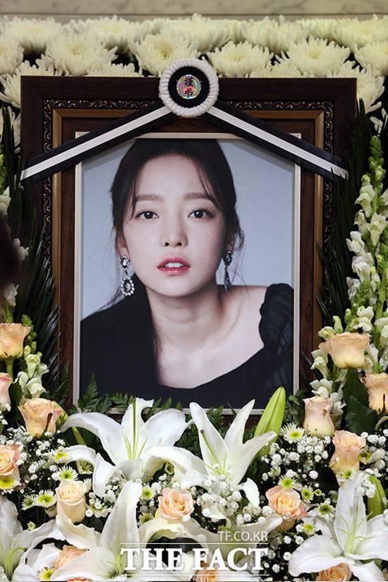 가수 구하라가 지난 24일 자택에서 숨진 채 발견됐다. /사진공동취재단
