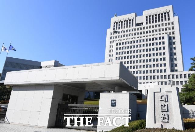 아동학대 방지 입법에 참여한 판사를 물의 야기 법관으로 분류한 법원행정처 문건이 공개됐다. 사진은 서초동 대법원 청사 전경 / 남용희 기자