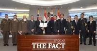 [TF포토] '국방협력 MOU체결한 한국-헝가리'