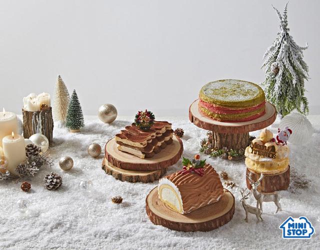 미니스톱은 박준우 셰프와 협업해 크리스마스 케이크를 사전주문 판매에 나섰다. /미니스톱 제공