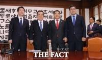 [TF포토] 원내대표 회동 갖는 이인영-심재철-오신환