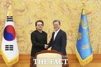 U2 보노 만난 文대통령