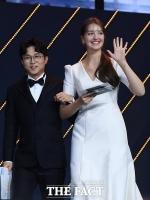 [TF포토] 박성광-안젤리나 다닐로바, '웃음 유발 엄청난 키 차이!'