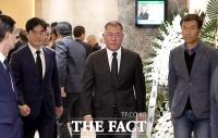 [TF포토] 정의선 부회장 '고 김우중 회장 빈소 찾아'