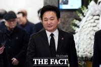 [TF포토] 조문 하는 원희룡 제주도지사